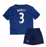 Mini Set Manchester United FC 2016-2017 Away Baby (Bailly 3)