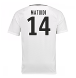 Trikot Paris Saint-Germain 2016-2017 Third (Matuidi 14) Kinder