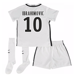 Mini Set Paris Saint-Germain 2016-2017 Third (Ibrahimovic 10)