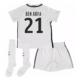 Mini Set Paris Saint-Germain 2016-2017 Third (Ben Arfa 21)