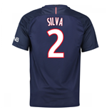 Trikot Paris Saint-Germain 2016-2017 Home (Silva 2)