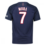 Trikot Paris Saint-Germain 2016-2017 Home (Moura 7)
