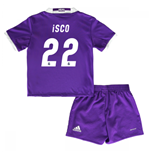 Mini Set Real Madrid Away 2016/17 - Babys (Isco 22)