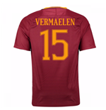 Trikot AS Rom 2016-2017 Home 2016/17 (Vermaelen 15) - Kinder