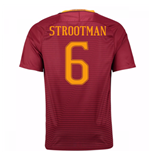 Trikot AS Rom 2016-2017 Home 2016/17 (Strootman 6)