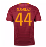 Trikot  AS Rom 2016-2017 Home 2016/17 (Manolas 44) - Kinder