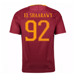 Trikot AS Rom 2016-2017 Home 2016/17 (El Shaarawy 92) - Kinder