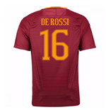 Trikot AS Rom 2016-2017 Home 2016/17 (De Rossi 16) Kinder