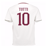 Trikot AS Rom 2016-2017 Away 2016/17 (Totti 10) - Kinder
