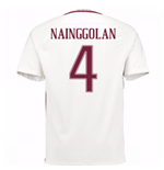 Trikot AS Rom 2016-2017 Away 2016/17 (Nainggolan 4) - Kinder
