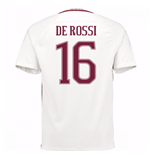 Trikot AS Rom 2016-2017 Away 2016/17 (De Rossi 16) - Kinder
