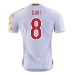 Trikot Spanien Fussball Away 2016/17 (Xavi 8) - Kinder