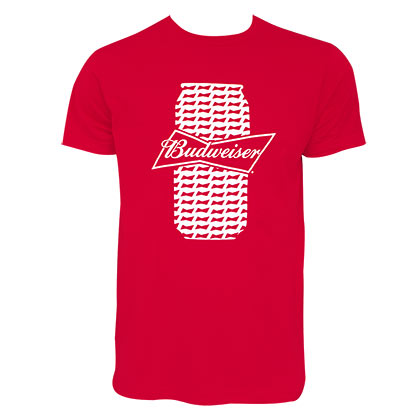 T-Shirt Budweiser Beer Can