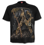 T-Shirt Spiral - Steampunk Skeleton