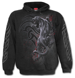 Sweatshirt Tribal Panther in schwarz