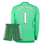 Mini Set Manchester United FC 2015-2016 Home Personalisierbar