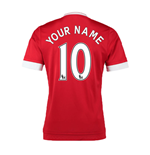 Trikot Manchester United FC 2015-2016 Home Personalisierbar - Kinder