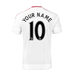 Trikot Manchester United FC 2015-2016 Away Personalisierbar - Kinder