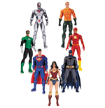 DC Rebirth Justice League Actionfiguren 7er-Pack 18 cm