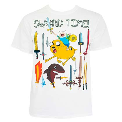 T-Shirt Adventure Time Sword Time