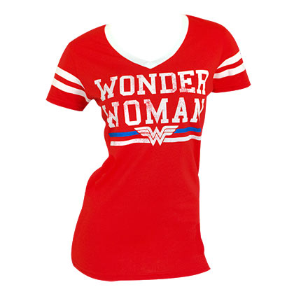 T-Shirt Wonder Woman Varsity