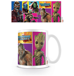 Guardians of the Galaxy Vol. 2 Tasse Comic Panels