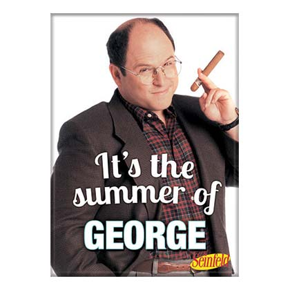 Magnet Seinfeld George Summer