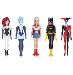 The New Batman Adventures Actionfiguren 5er-Pack Girls Night Out 14 cm