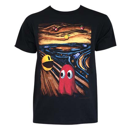 T-Shirt Pac-Man Horror Art