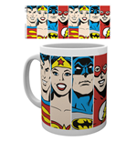 Tasse Superhelden DC Comics - Faces