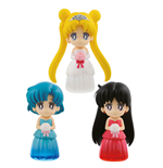 Sailor Moon Minifiguren 6 cm Sortiment Clear Colored Sparkle Dress Collection Vol. 1 (25)