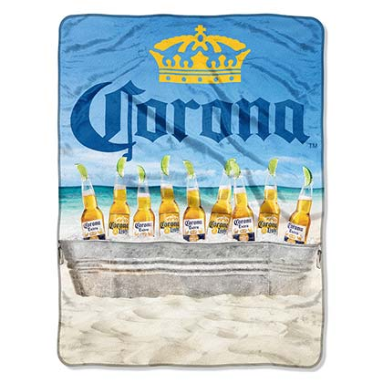 Strandtuch Coronita EXTRA Plush Throw Beach Scene