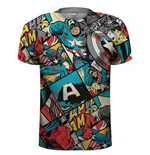 T-Shirt Captain America  261821