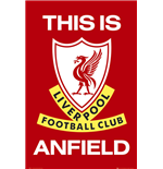 Poster Liverpool FC - This Is Anfield.