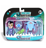 Spielzeug Mutant Busters - Acqua - Action Pack - Shooter & Sharco