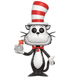 Dr. Seuss POP! Books Vinyl Figur Cat In The Hat (Fish Bowl) 9 cm