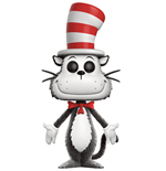 Dr. Seuss POP! Books Vinyl Figur Cat in the Hat (Flocked) 9 cm