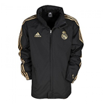 Regenjacke Real Madrid 2011-2012 (Schwarz)