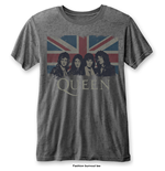 T-Shirt Queen Vintage Union Jack