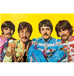 Poster Beatles - Lonely Hearts Club 61 x 91,5 cm