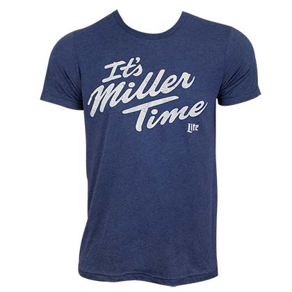 T-Shirt Miller Beer It's MILLER Time