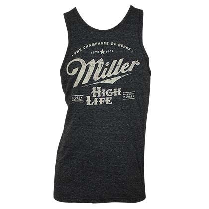 Top Miller Beer Distressed Logo