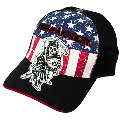 Kappe Sons of Anarchy American Flag