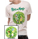 T-Shirt Rick and Morty - Portal Back Print