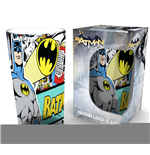 Batman Premium Glas Comic Wrap