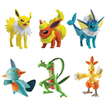 Pokemon Actionfiguren 3-er Pack 6 cm Sortiment D3 (4)