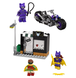 The LEGO® Batman Movie™ Catwoman™: Catcycle-Verfolgungsjagd
