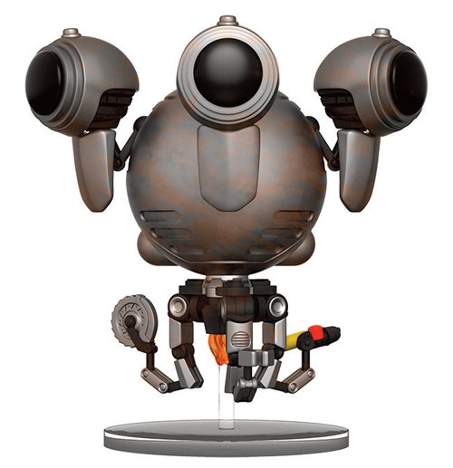 Kaufe Fallout 4 Pop Games Vinyl Figur Codsworth Battle 9 Cm