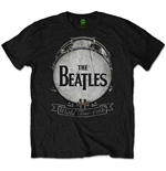T-Shirt Beatles - World Tour 1966 in schwarz