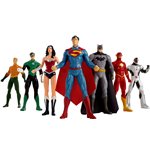 Justice League Biegefiguren 7er-Pack 20 cm
